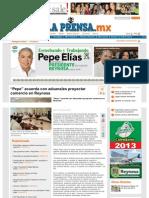 """17-06-2013 """"Pepe"""" acuerda con aduanales proyectar comercio en Reynosa"""