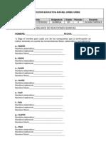 Nomenclatura y Balance de Reacciones Recuperacion 2 Periodo Decimo