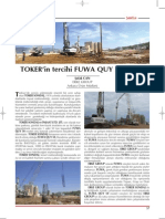 ERKE Group, TOKER'in tercihi FUWA QUY 50 oldu. - Şantiye Dergisi / Haziran 2013