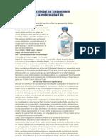 Edulcorante Artificial Un Tratamiento Potencial Para La Enfermedad de Parkinson