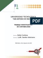 Proyecto de Contabilidad Betty Cordova 2003
