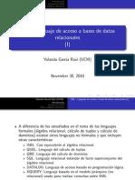 Tema 5I Base de Datos