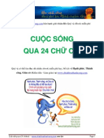 Cuoc Song Qua 24 Chu Cai Cafebook.info