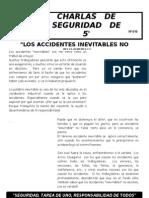 012-Los Accidentes Inevitables No Existen