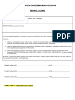 Maplewood Request to Lease Form