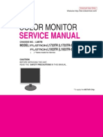 LG L1733TR L1933TR Monitor Service Manual