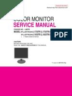 LG L1733TR L1933TR Monitor Service Manual