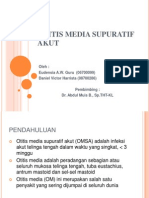 Otitis Media Supuratif Akut Ppt Final