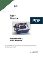 Manual Para El PMM-1 Megger