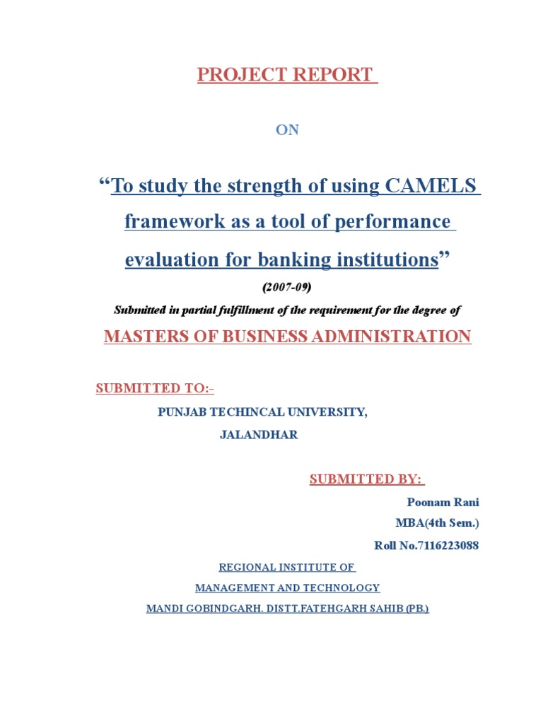 performance evaluation of hdfc bank using camel model Bankingperformance evaluation of hdfc bank using camel model bank as we now understand the term that the metallic currency be k.