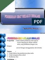 Pemberian Ob. Inhalasi