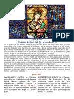 Nuestra Señora del Perpetuo Socorro. 27 de junio. Forma Extraordinaria del Rito Romano. Folleto bilingüe pdf
