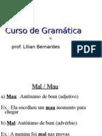 Curso de Gramatica