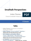 Smalltalk Perspectives, by Arden Thomas