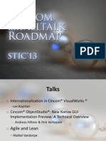 Cincom Smalltalk Roadmap (STIC'13) by Arden Thomas