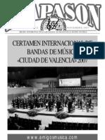 Revista Diapasón Nº 22 (noviembre 2007)
