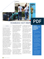 Homeless Not Helpless MB Magazine Winter 2013