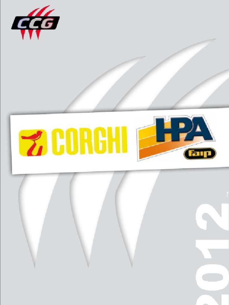Corghi Cougar HPA Catalogue France Juin 2013