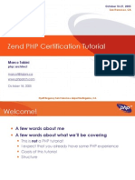 Zend Cert Document