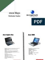 Stock Notebooks Usados Mayo