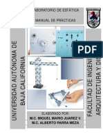 Manual de Laboratorio de Estatica