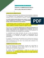 Teoria de Administracion JHP 2012