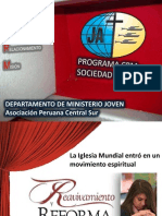 PROGRAMA CRM - SOCIEDAD DE JÓVENES