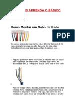 MONTANDO UM CABO DE REDES PASSO A PASSO