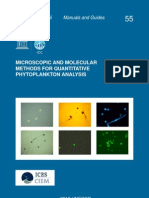 Microscopic and Molecular Methods for Quantitative Phytoplankton Analysis