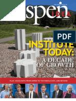 Aspen Idea Magazine Summer 2013 Issue