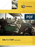 Golf and Turf Vehicle Guide