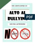 BULLYING GUÍA PARA PROFESORES  2013