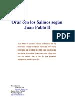 Juan Pablo II - Orar Con Los Salmos[1]
