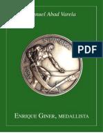 Enrique Giner, Medallista