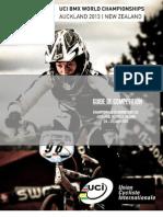 Dossier Invitation Challenge Mondial Et Championnats Du Monde BMX 2013 AUCKLAND