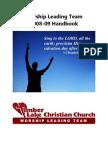 Worship Leading Team Handbook
