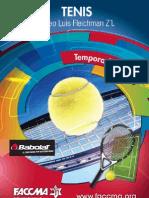 Programa Tenis FACCMA 2013
