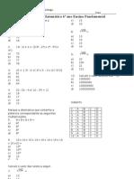 Matematica 6a