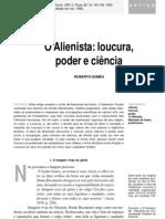 O Alienista, Loucura Poder e Ciencia