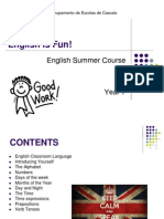 English Summer Course Year 7