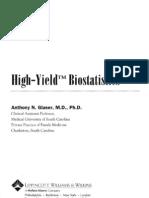 High-Yield Biostatistics