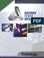 Catálogo de Productos de Aceros Ferrenevado, S.A. de C.V.