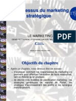 Processus Marketing Strategique