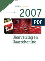 Holland Casino Jaarverslag 2007