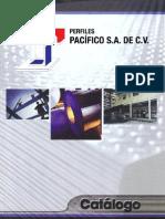 Catálogo de productos de Perfiles Pacífico, S.A. de C.V.