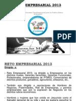 Reto Empresarial 2013