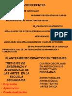 Diapositivas Artes Programas de Estudio