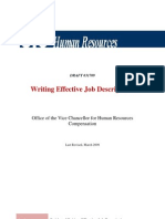 Guide to Writing Effective Job Descriptions-Combined