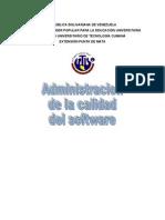 Administracion de La Calidad Del Software