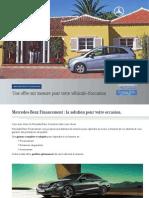 Brochure Financement
